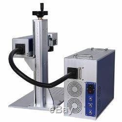 50W Fiber Laser Marking Machine Portable Machine With Aluminum Profile wifi