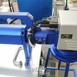 50W Hand held fiber laser marking machine 20cm metal engrave stainless steel