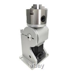 50W JPT Fiber Laser Marking Machine Laser Marker 175175mm with 125mm RotaryAxis