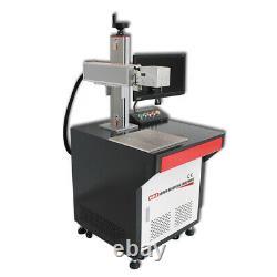 50W JPT Laser Marker Fiber Laser Engraver Marking Machine 175175mm