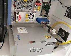 50W MAX Fiber Laser Marking Machine Metal jewerly Engraving CNC Steel DIY USB
