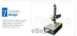 50W Raycus 110110mm Fiber Laser Marking Machine Laser Engrave Metal & Non-metal