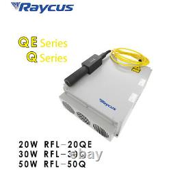 50W Raycus Fiber Laser Marker Laser Marking Machine Laser Engraver 80mm Rotary