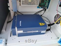 50W Raycus Fiber Laser Marking Machine Metal Engraving Steel Steel&Plastic