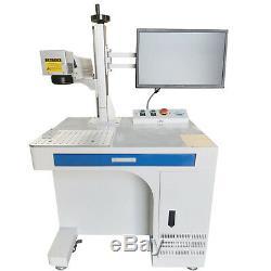 50W Raycus Fiber Laser Marking Machine Metal Non-Metal Engraving CNC Steel DIY