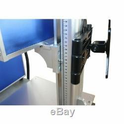 50W Split Fiber Laser Marking Engraving Engraver Machine Rotary Axis Include FDA