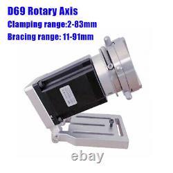 60W JPT MOPA M7 Enclosed Fiber Laser Engraver Laser Marking Machine with Rotary