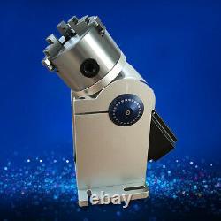 80mm Rotary Chuck Laser Rotaion Axis Fiber Laser Marking Machine Rotary Shaft