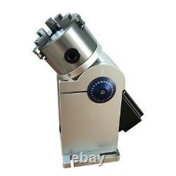 8cm Rotary Axis Fiber Laser Marking Machine Rotary Chuck Rotary Shaft Driver CNC