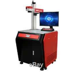 AOK LASER 30w Fiber Laser engraver Marking Machine cutting engraving