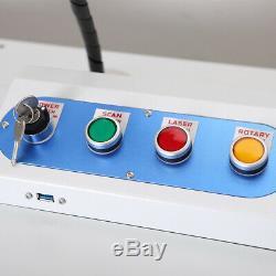 AOK LASER Deluxe 50w Q-switched Fiber Laser Marking Machine Laser engraver laser