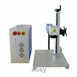 CALCA 30W Fiber Laser Marking Metal Engraving Marker Engraver EzCad2 Rotary FDA