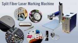 CALCA 30W Split Fiber Laser Marking Machine, Raycus Laser + Rotation Axis, FDA