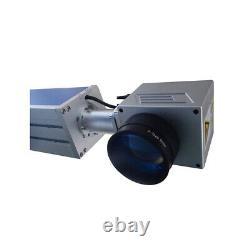 CA Pick-up 30W Split Fiber Laser Marking Machine Raycus Laser Rotation Axis FDA