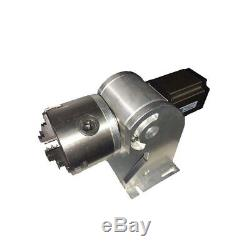 CE & FDA 30W Split Fiber Laser Marking Engraving Machine Rotary Axis Include