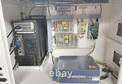 CNC Raycus 50W USB Fiber Laser Marking Machine Metal Engraving FDA PC GUN MARK