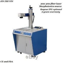 Cheapest 20w fiber laser marking machine for aluminum brass stainless steel