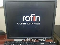Coherent Rofin F20 Fiber laser marking engraving system