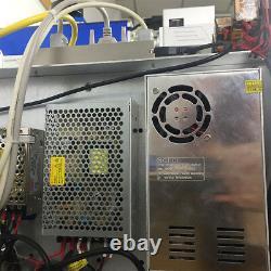 Color fiber laser marking machine Mopa M1 20w for stainless steel color marking
