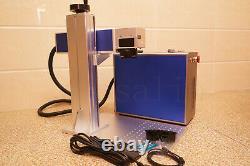 DIY 30w raycus fiber laser engraver marking engraving machine desktop cnc ca usb