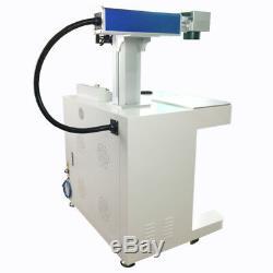 Desktop fiber laser marking machine 20w Raycus source fiber laser engraver
