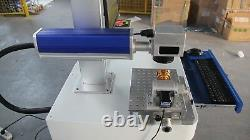 Directly use cnc fiber laser marking machine price with computer
