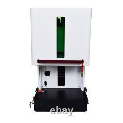 Enclosed 20W 150x150mm Laser Marking Machine Fiber Laser Engraver