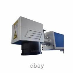 FDA 50W Split Fiber Laser Marking Engraving Engraver Machine + Rotary Axis