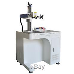 FDA Raycus 30W Cabinet Fiber Laser Marking Machine For Metal