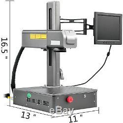 Fiber LaserFiber Laser Engraver20W FiberLaser Marking MachineWith Computer
