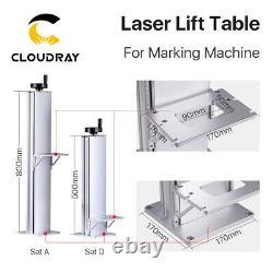 Fiber Laser Lift Table Lift Column Stand 500 & 800mm For Marking Machine