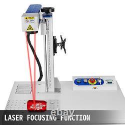 Fiber Laser Marking Machine 20W Cabinet Type Metal Novel Design Laser Focus US