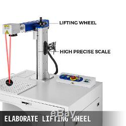 Fiber Laser Marking Machine 30W Cabinet Type Marker Metal&Non-Metal Engraver