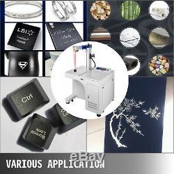 Fiber Laser Marking Machine 30W Cabinet Type US stock Photoshop 8.66x8.66 Inch