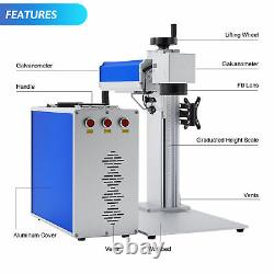 Fiber Laser Marking Machine 50W Split Type Marker Metal&Non-Metal Engraver CE