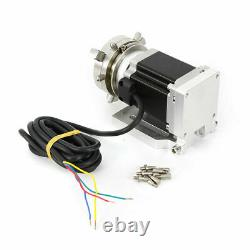 Fiber Laser Marking Machine Rotary Axis Rotary Chuck Rotating Shaft for 50mm