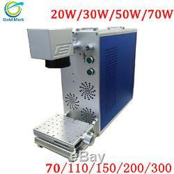 Fiber Laser Marking Machine Shell 110mm Metal Engraving Machine With CE FDA