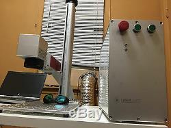 Fiber Laser Metal Engraving Marking Cutting Machine 30W 1064nm FDA USA