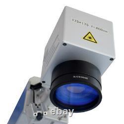 JPT 50W Fiber Laser Marking Machine Metal Steel Gold Silver Copper Engraver Cut