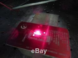 Kevron Inc Elite Mark XX IGP Photonics Fiber Laser Marking Machine with Rotary