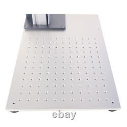 MAX 30W Fiber Laser Marking Machine 110x110mm Metal Engrave with Rotary Axis
