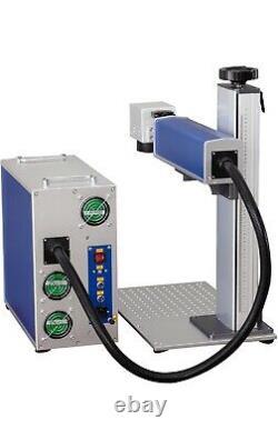 MAX 30W Fiber Laser Marking Machine Metal & Plastic Original BJJCZ & 2 Lenses
