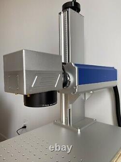 MAX 50W FIBER LASER MARKING Cutting MACHINE Q-SWITCH Incl BJJCZ + 2 LENSES