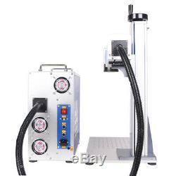MAX 50W Fiber Laser Marking Machine Metal Non-Metal Engraving Steel DIY
