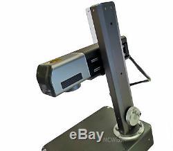 MCWlaser 20W MAX Fiber Laser Marking Machine & PC Engraving Etching Metal Steel