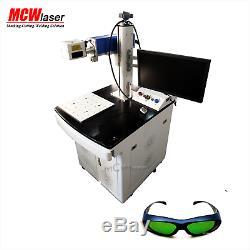 MCWlaser Raycus/ MAX 30W Fiber Laser Marking Engraving Machine