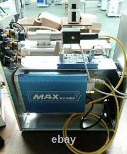 Max 30w Fiber Laser Marking Machine Metal & Plastic Original Bjjcz + 2 Lenses
