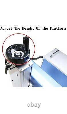 Max 50w Fiber Laser Marking Machine Original Bjjcz + Rotary Axis & 2 Lenses
