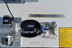 NEW 50W Raycus Fiber Laser Marking Machine Metal cutting Engraving CNC Steel USB