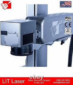 New 20w Q-switch Industrial Fiber Laser Marking/ Engraving/ Cutting System Ipg